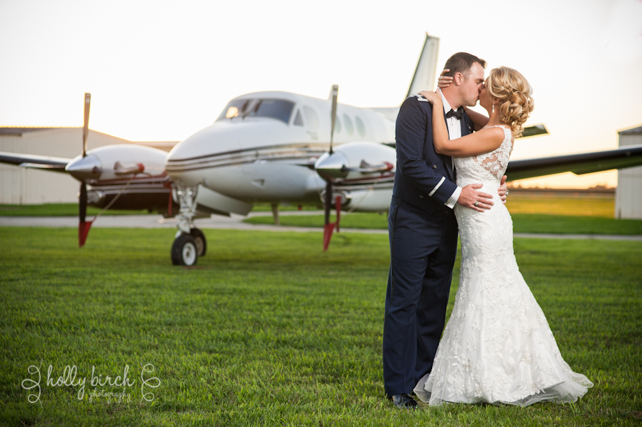 sunset portraits at Willard Airport