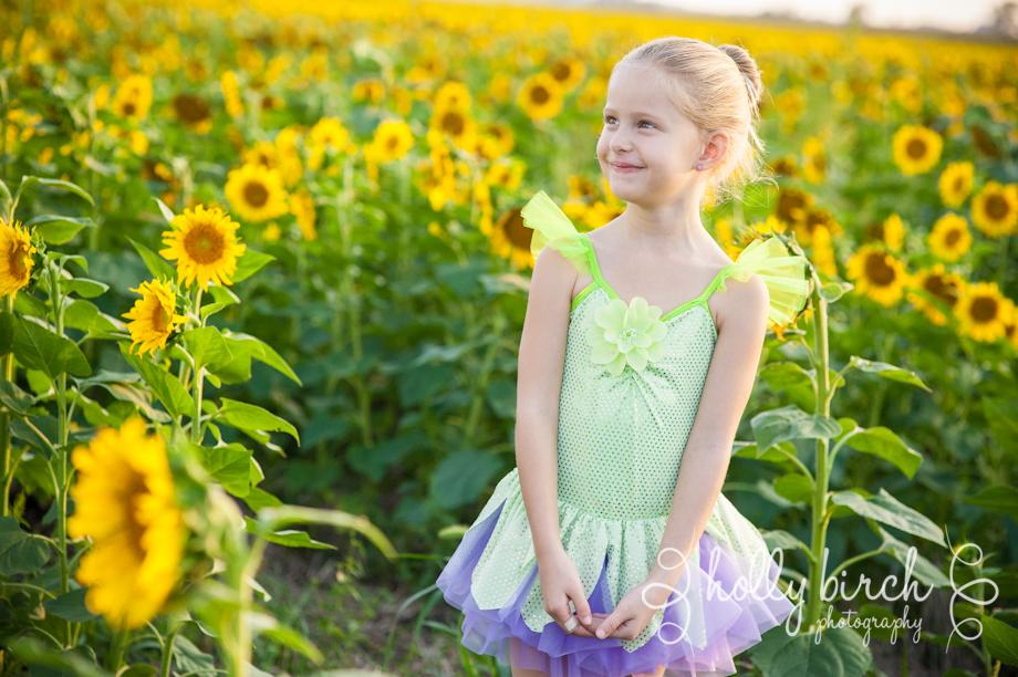 sunflower field portraits