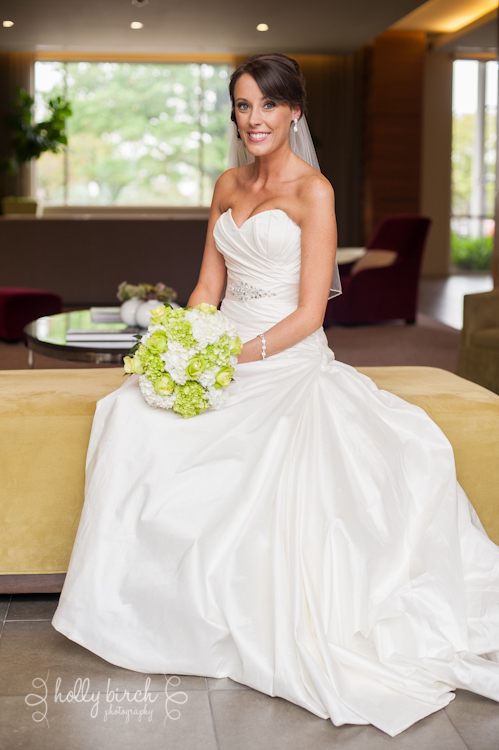 iHotel bridal portrait