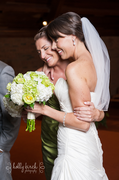 maid of honor hug