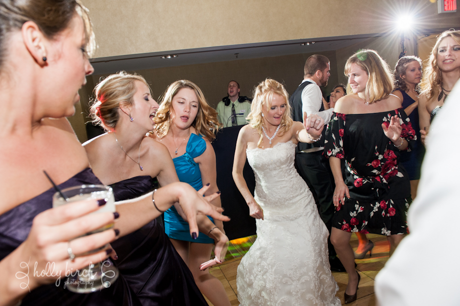 Reception dancing