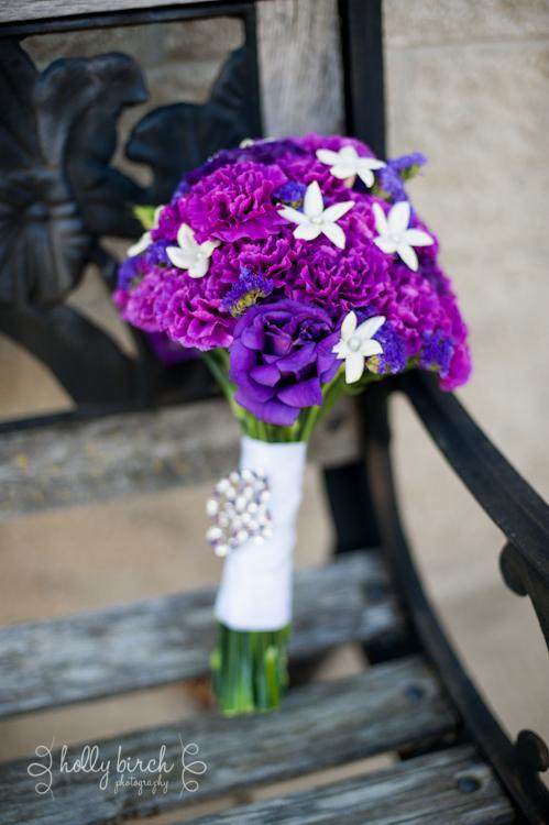 purple bouquet English Hedgerow