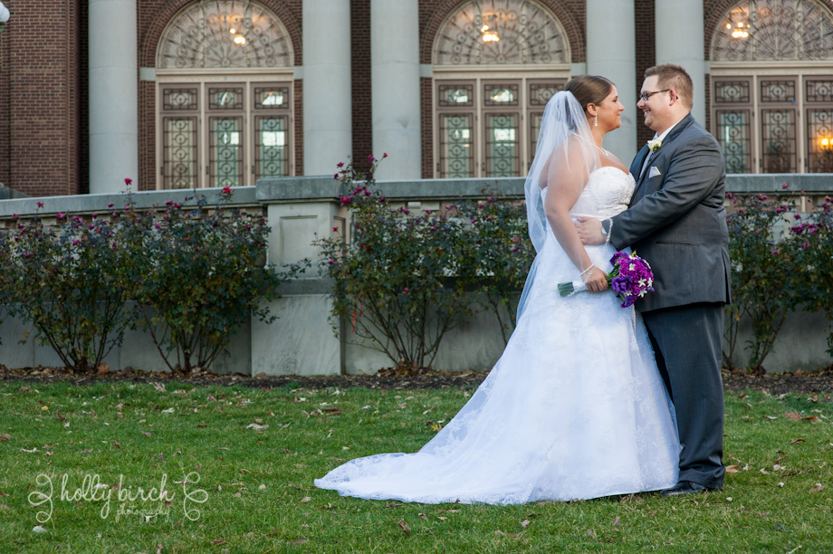 wedding image with Foellinger Auditorium