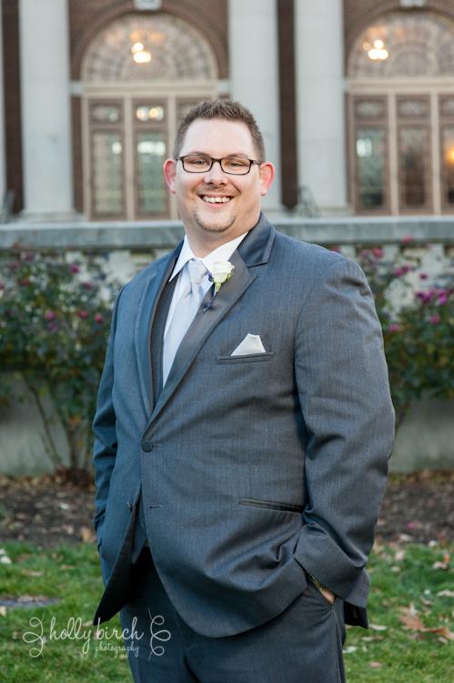 groom's portrait