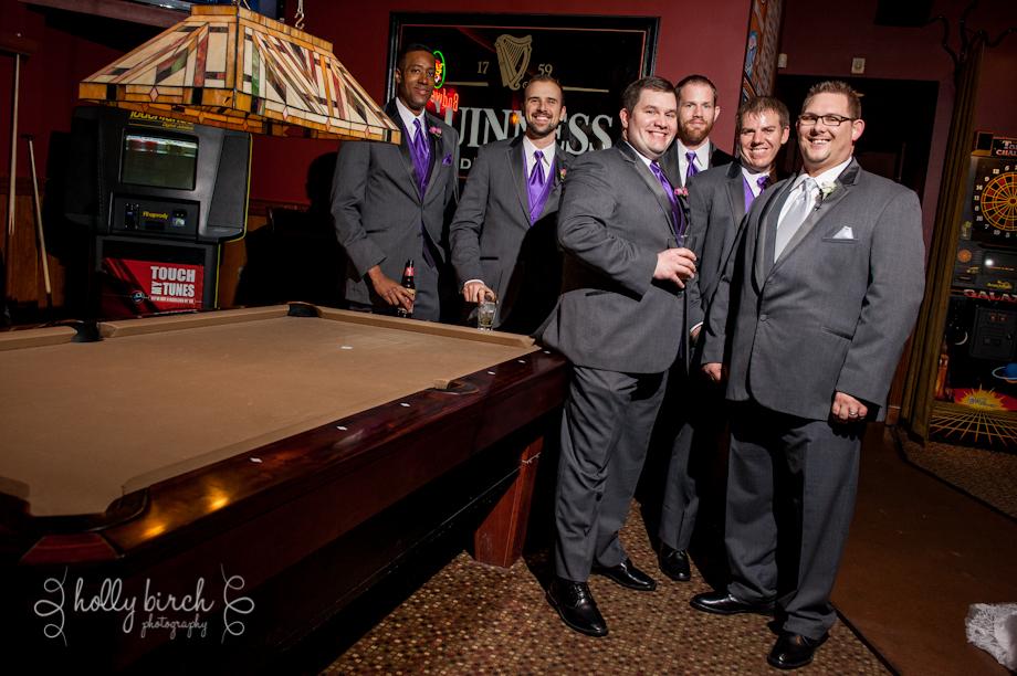 groomsmen at Guido's