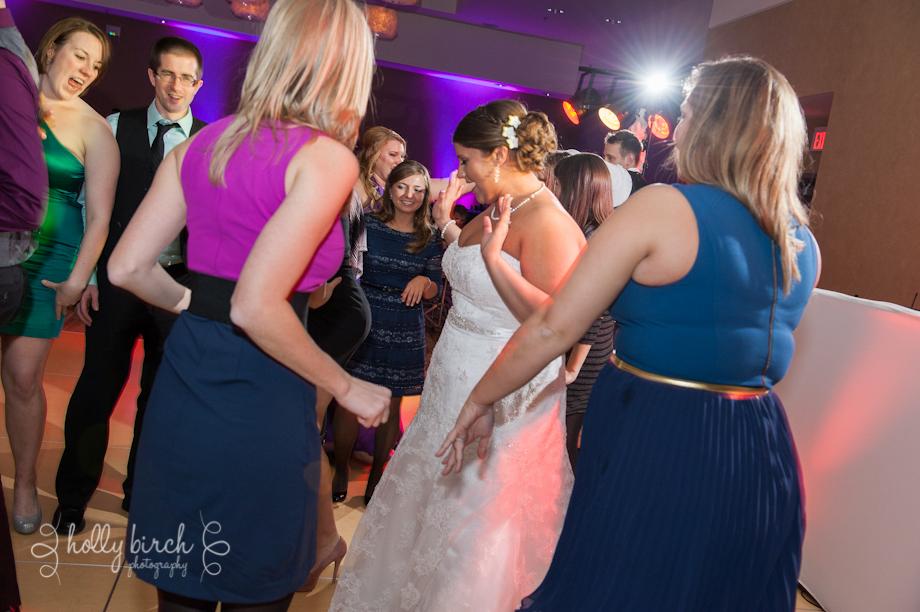 reception dancing iHotel