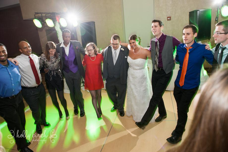 bride and groom American Pie