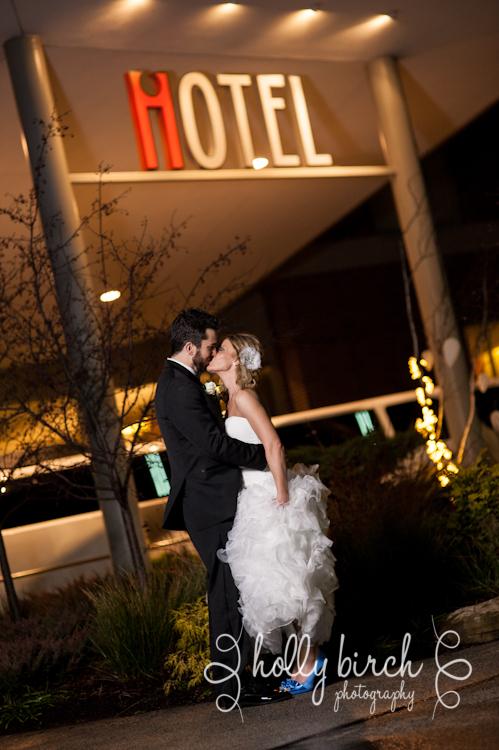 iHotel wedding portrait