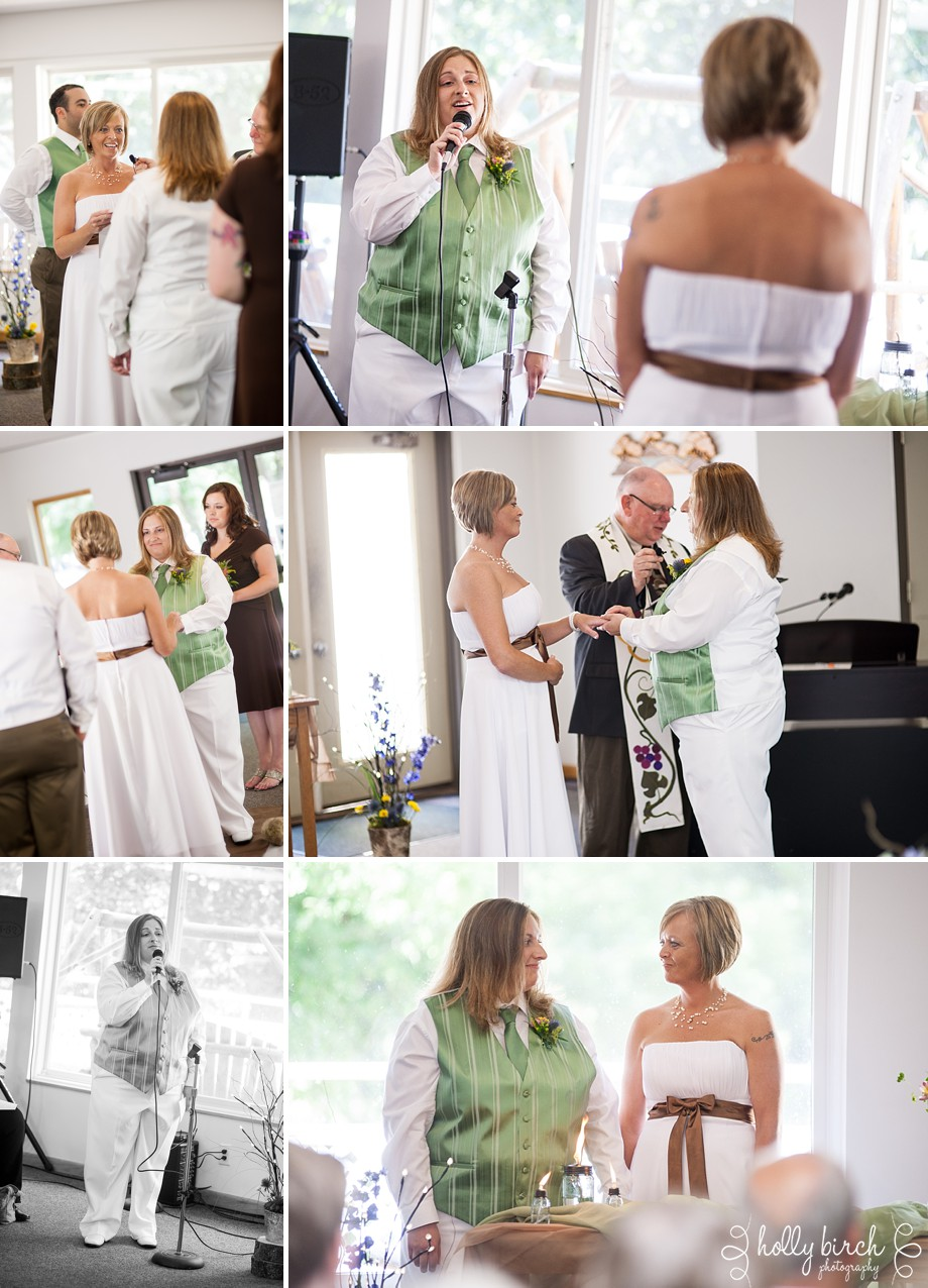 Kim + Sarah : Northern Illinois campground wedding — Holly Birch ...