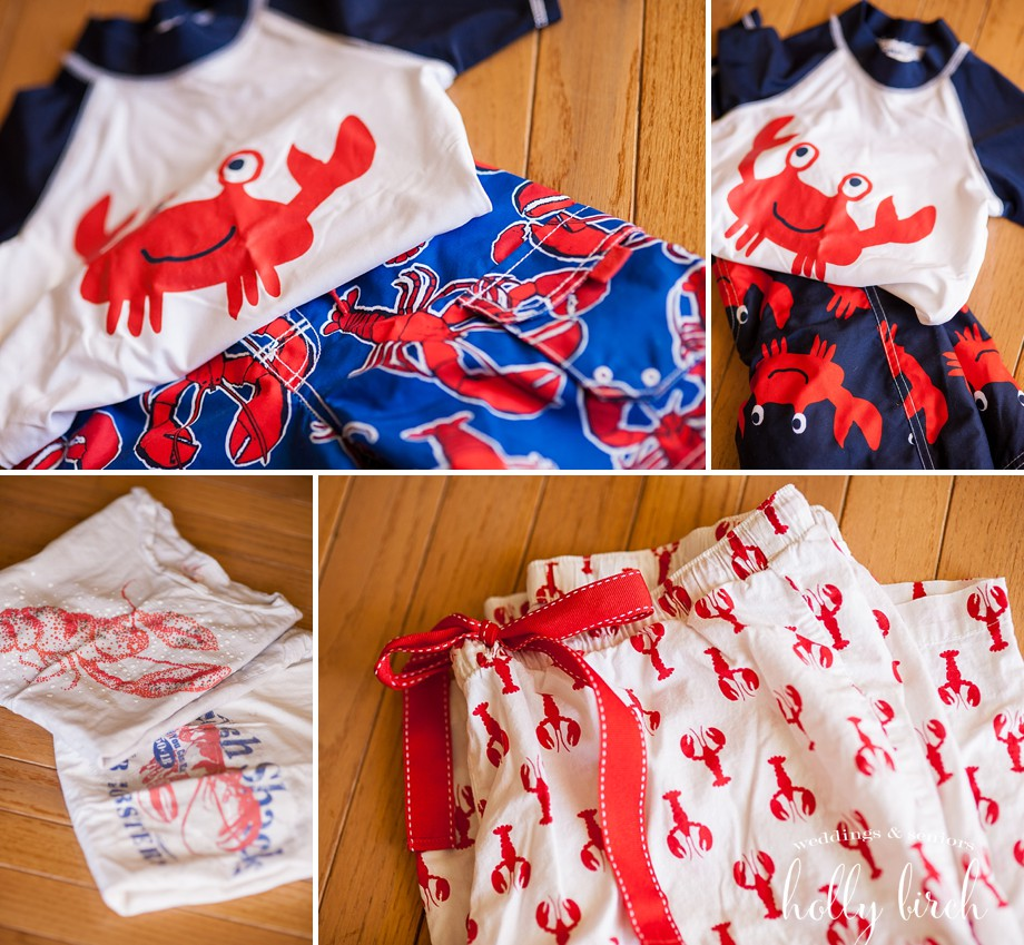 lobster swim trunks shirts pajama pants