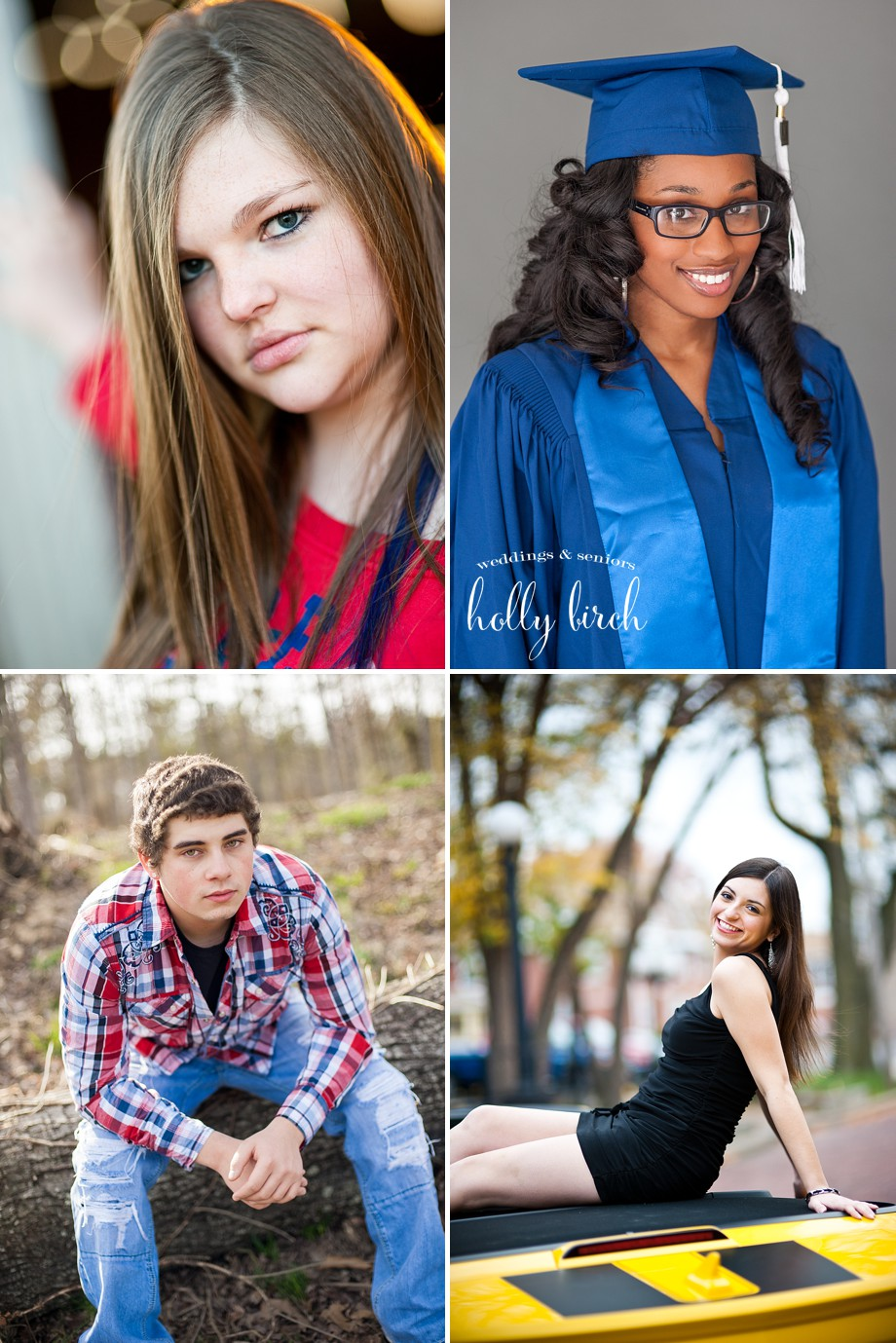 Graduation pictures seniors Centennial Chargers Central Maroons
