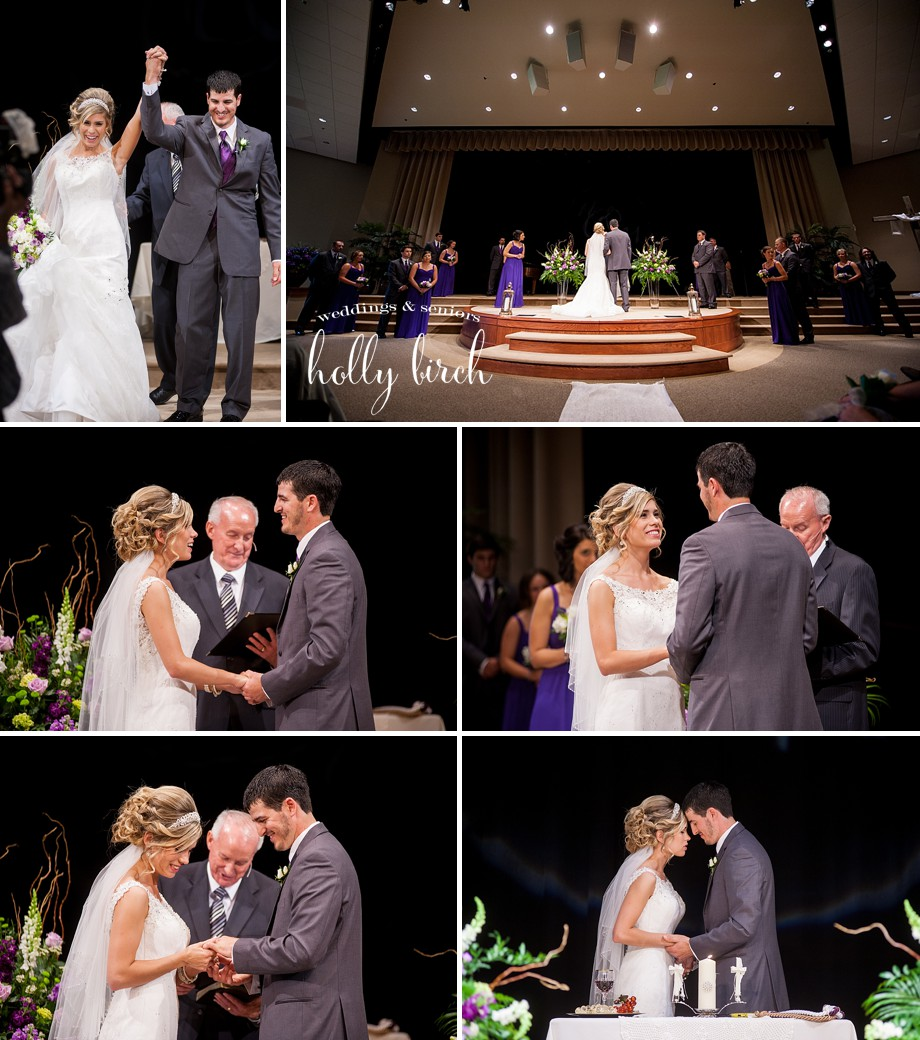 Meadowbrook Church wedding ceremony