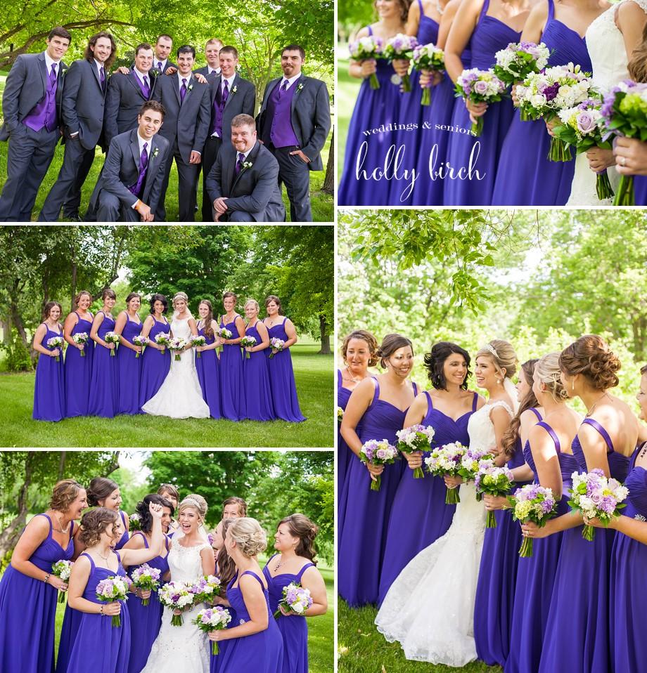 purple Elite Bridal dresses