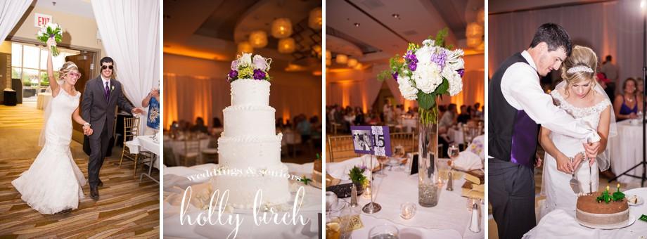 reception iHotel wedding details