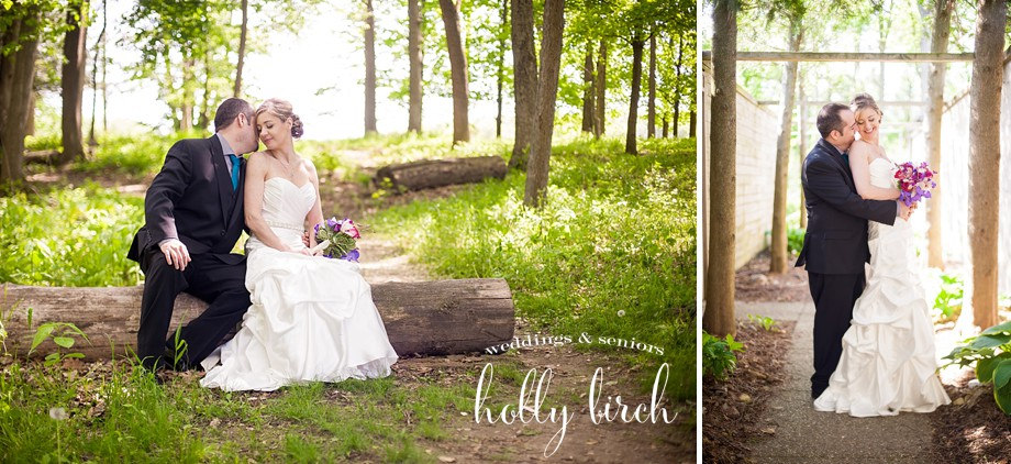 Woodland fairytale wedding photos