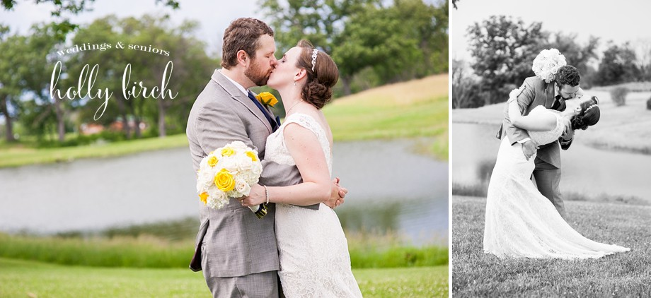 yellow gray wedding portraits