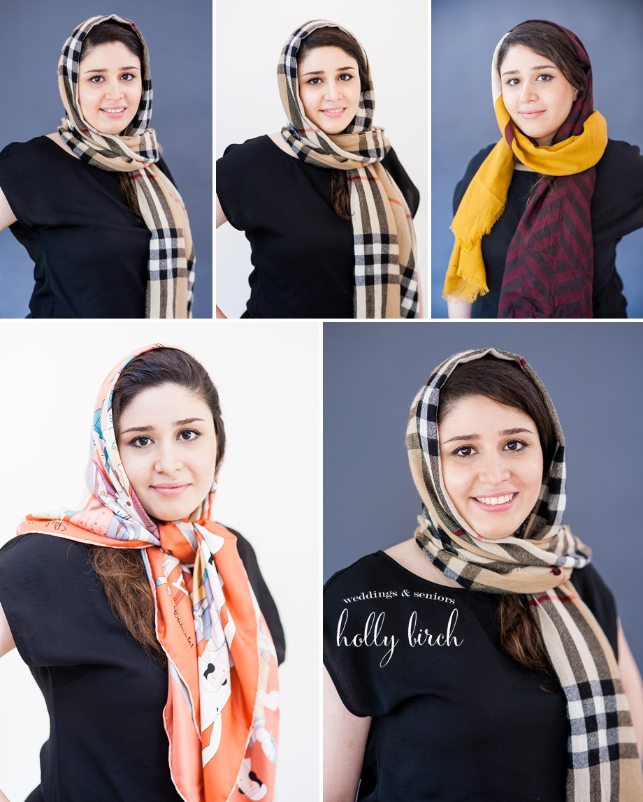LinkedIn professional resume headshots hijab