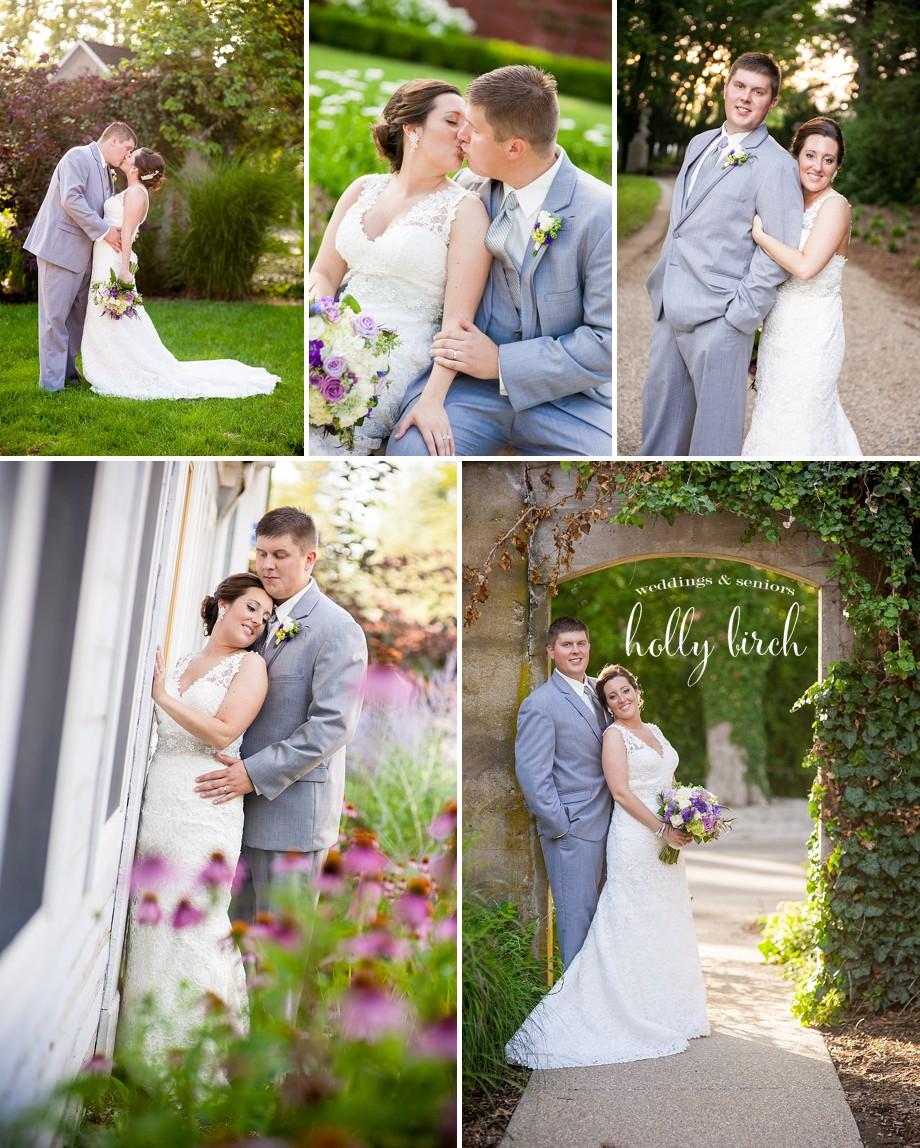 Allerton wedding couple