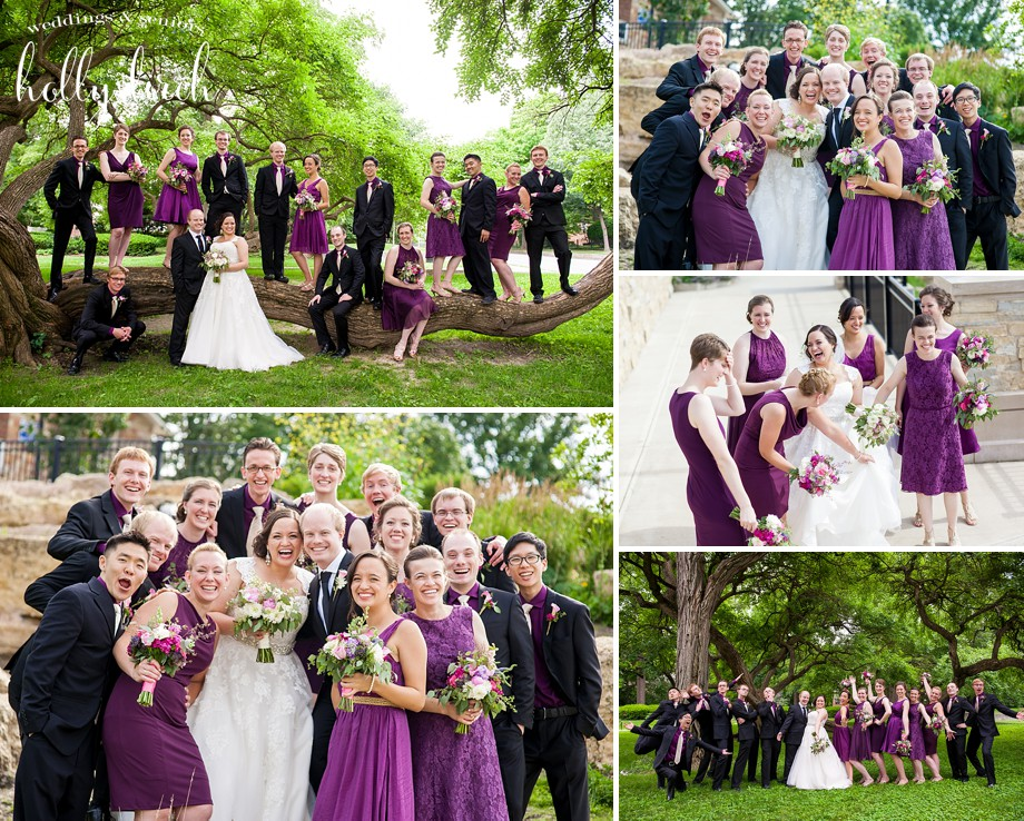 Trevett-Finch park wedding photos