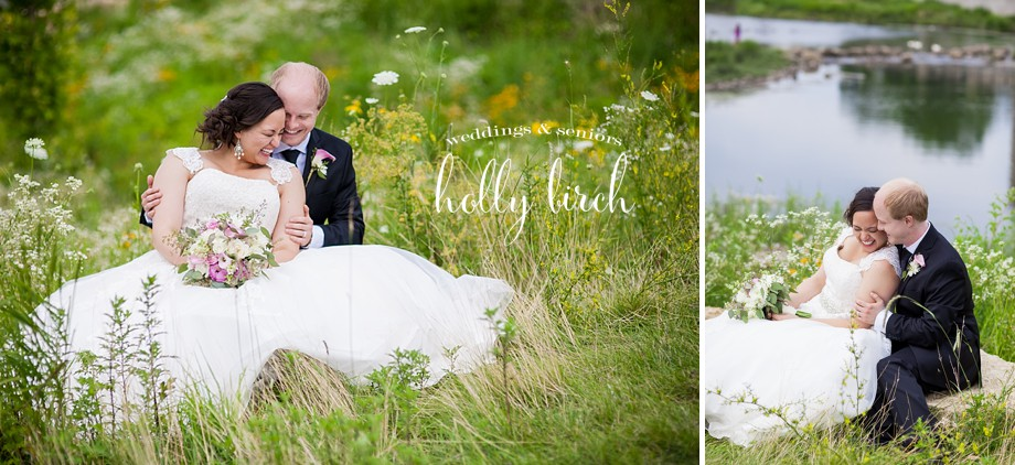 Boneyard Creek basin wedding photos