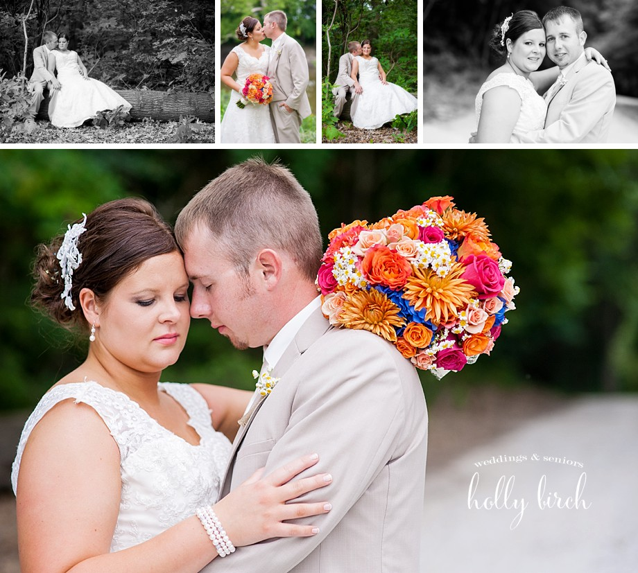 bride and groom couple portraits