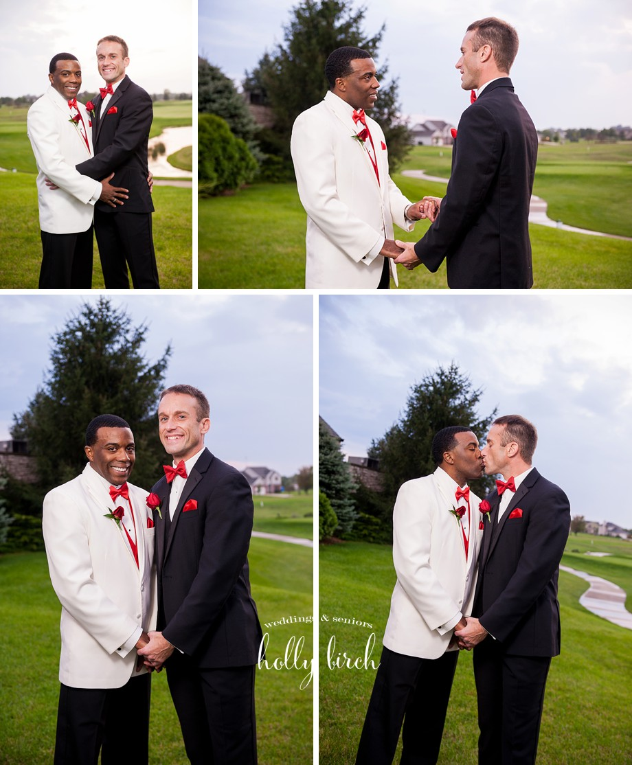 golf course wedding portraits Stone Creek Urbana