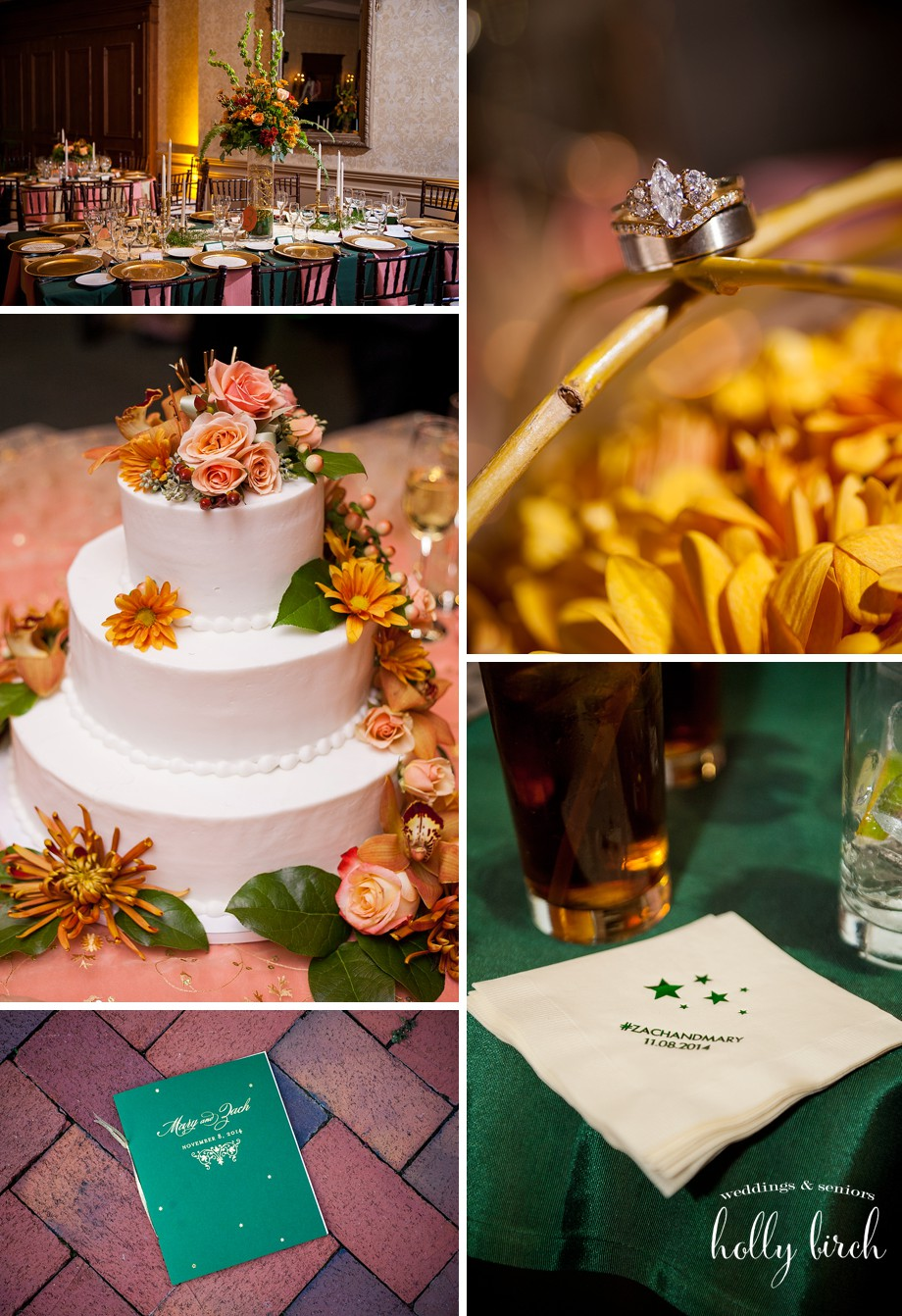 cake reception details