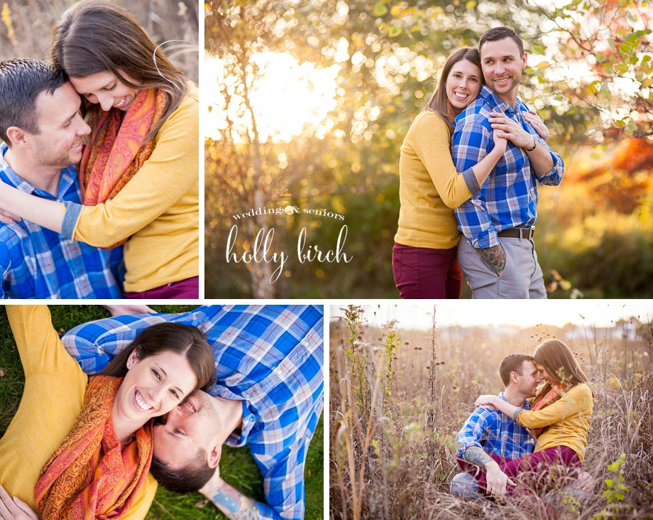 Meadowbrook Park sunset engagement