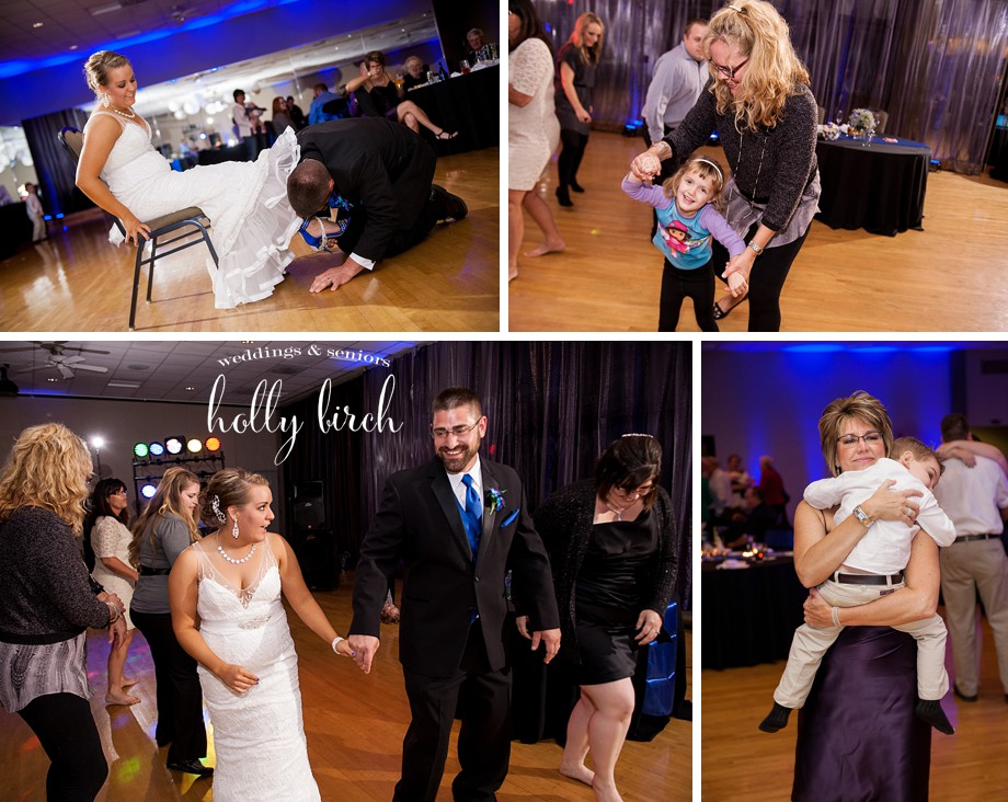 reception dancing and candids