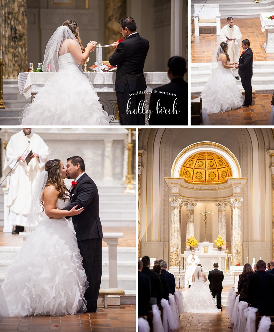 Holy Cross Champaign wedding