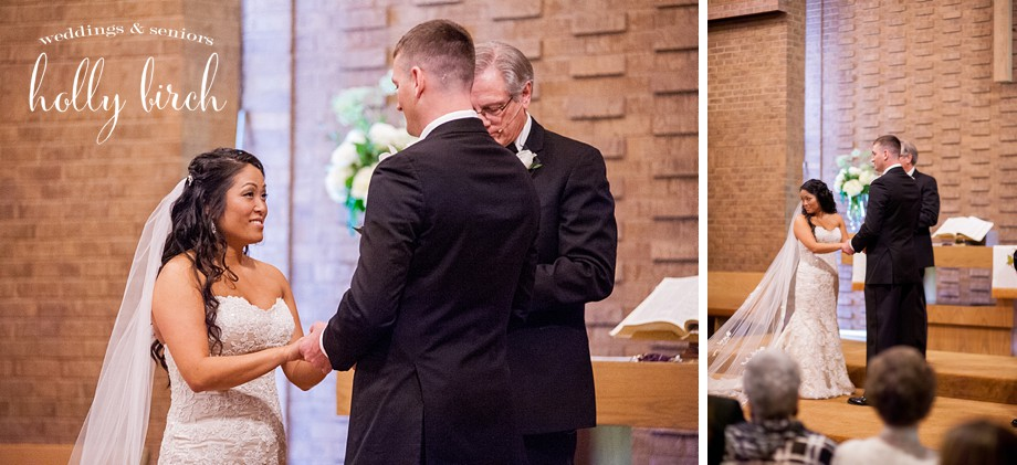 Sidney United Church wedding