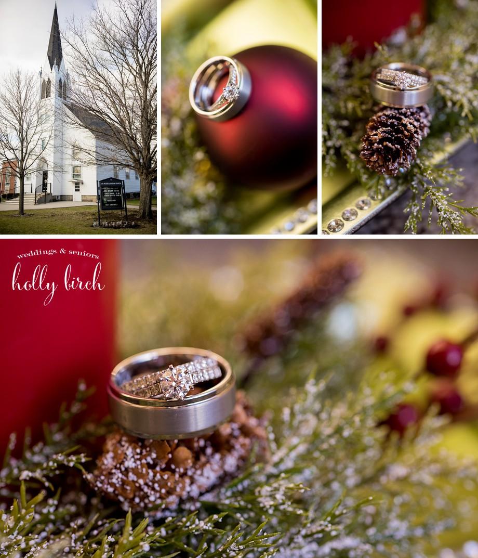 holiday wedding rings
