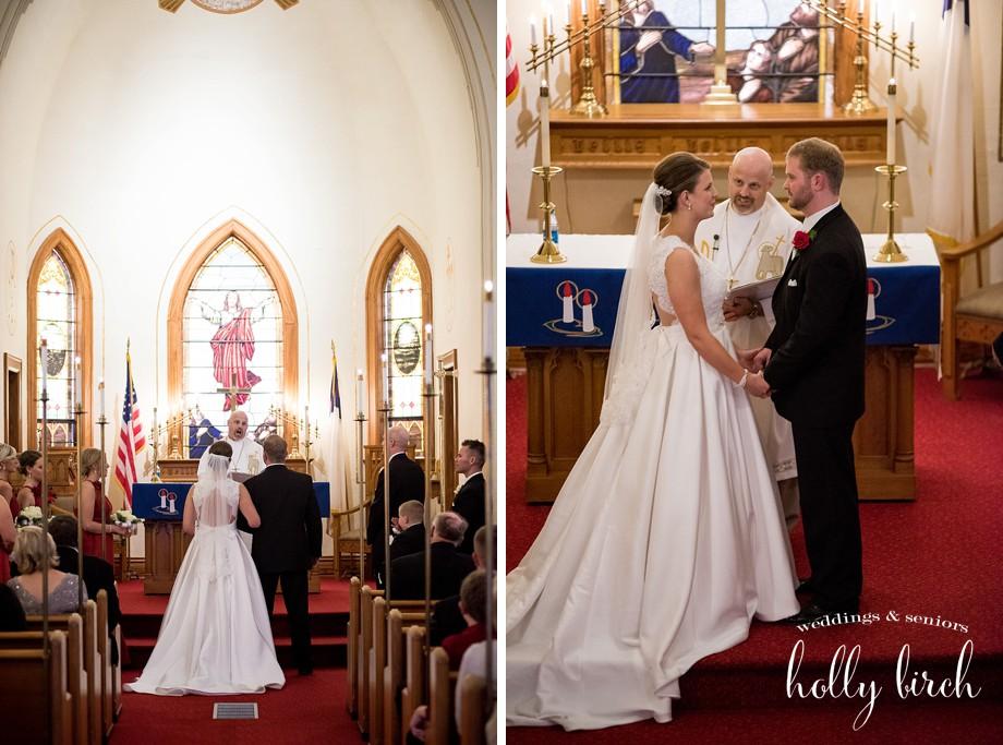 Crescent City wedding ceremony