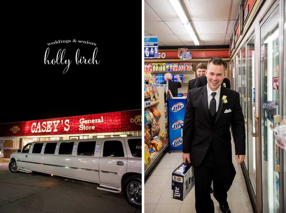 limo stop at Casey's General Store