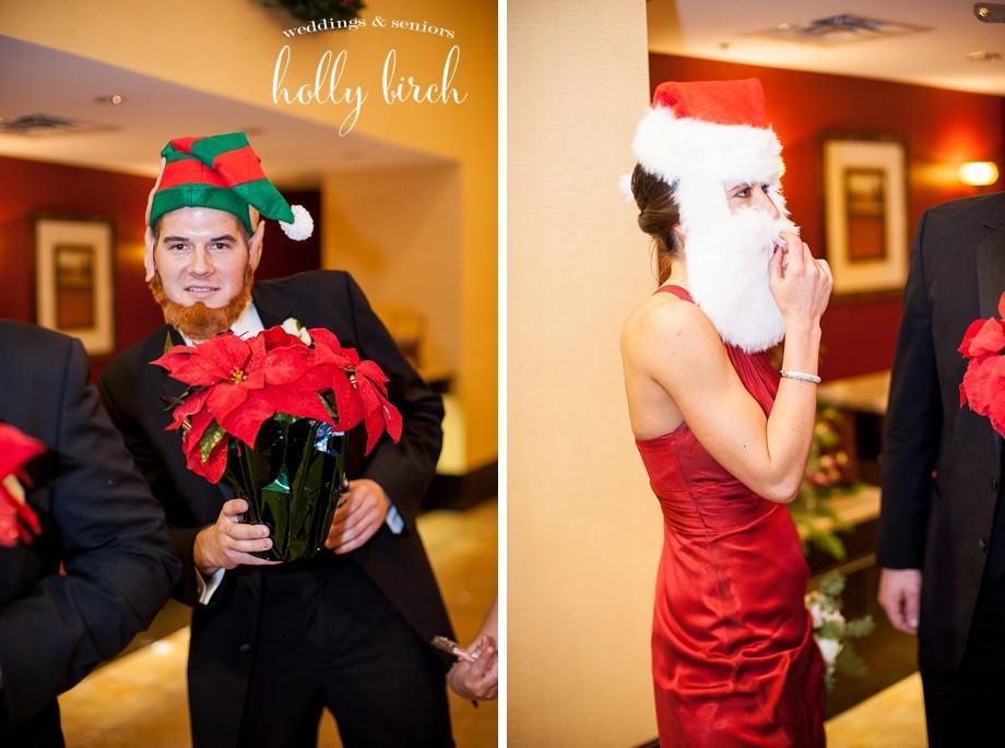 entrance elf props Santa