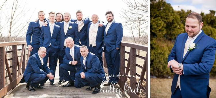 navy tux groomsmen