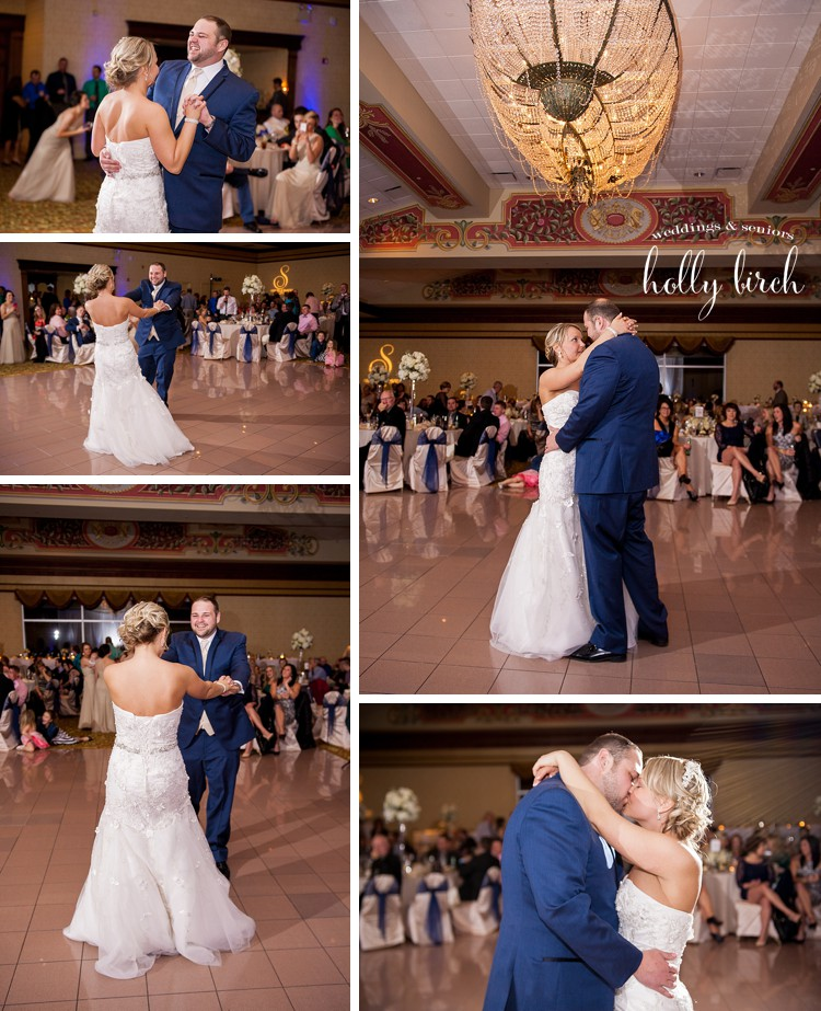 "couple's first dance ""Thinking Out Loud"" by Ed Sheeran"