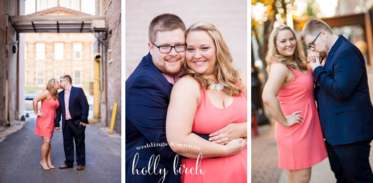 Downtown Springfield engagement