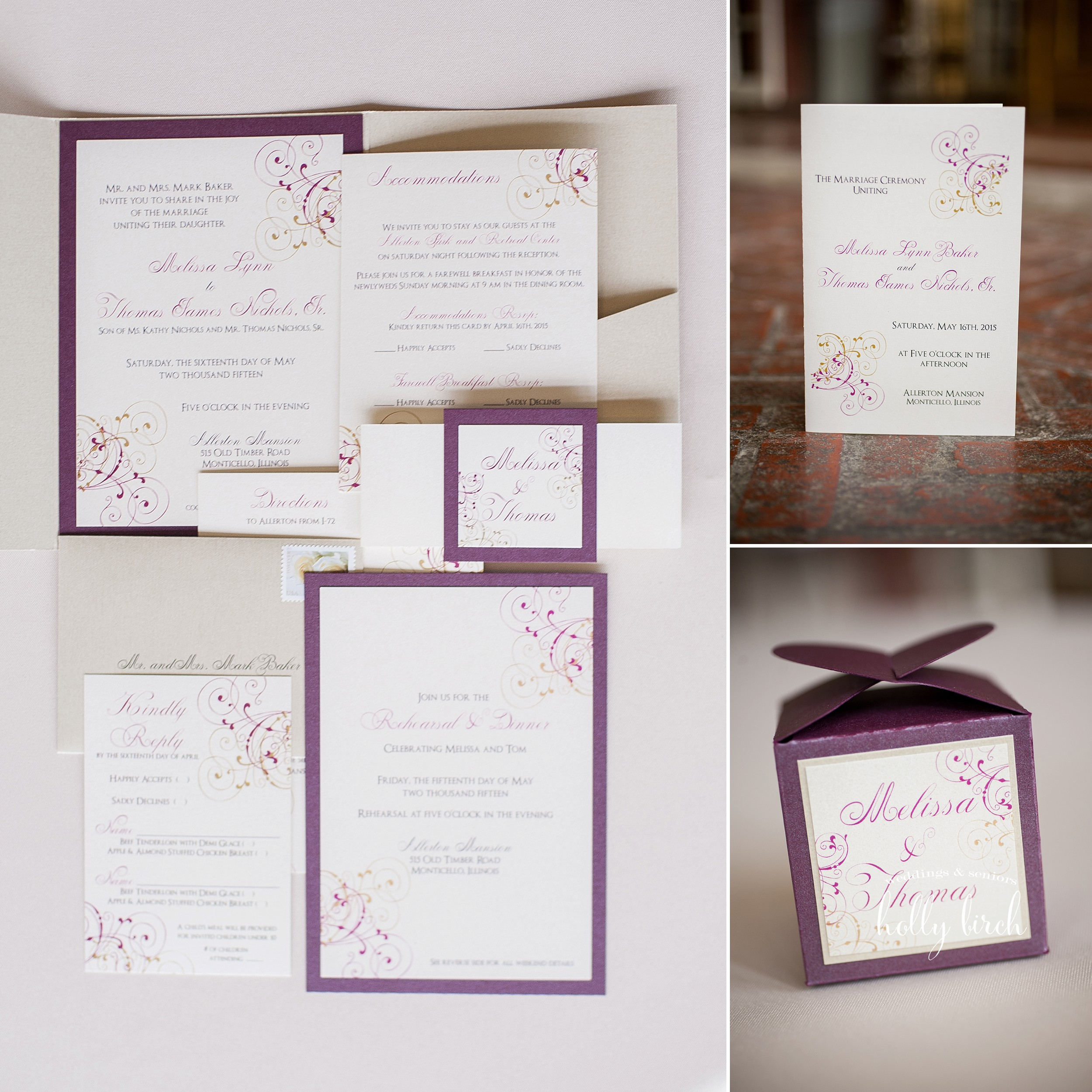 Paper Boutique wedding print suite
