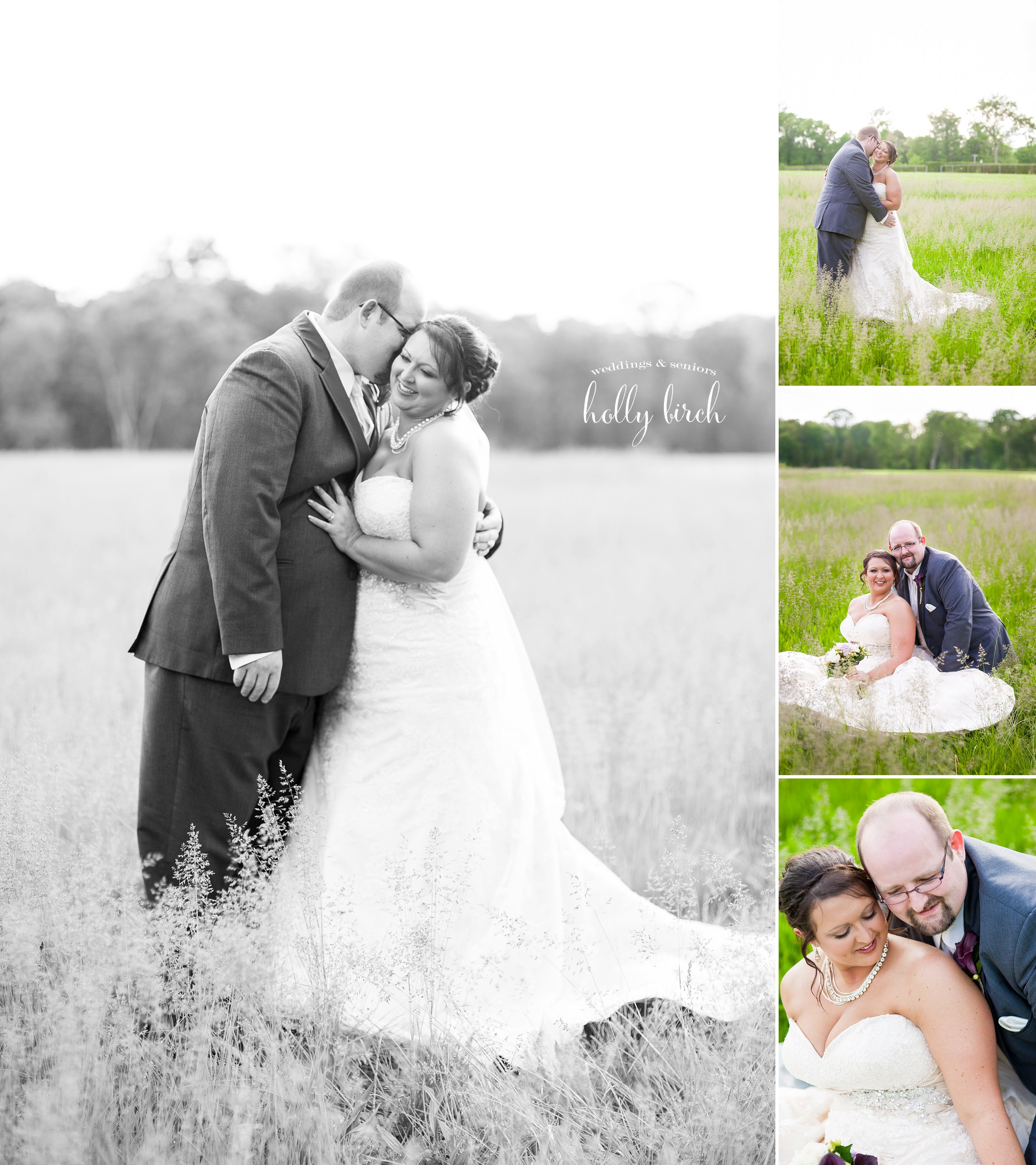 tall grass bride groom portraits