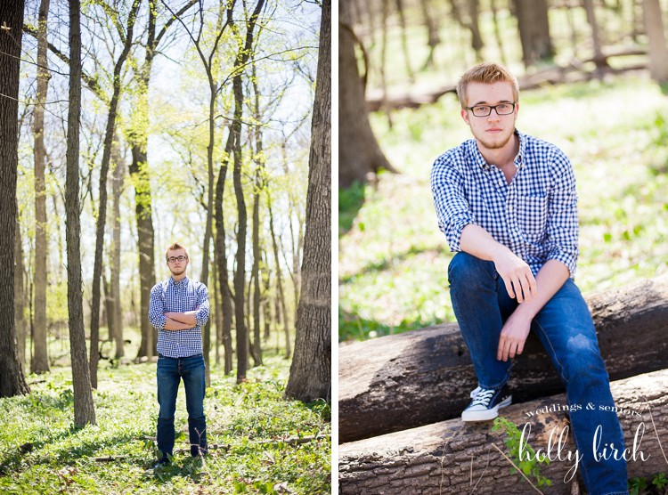 senior boy mini session Mahomet