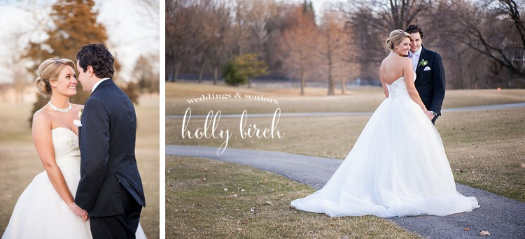 March bridal portraits