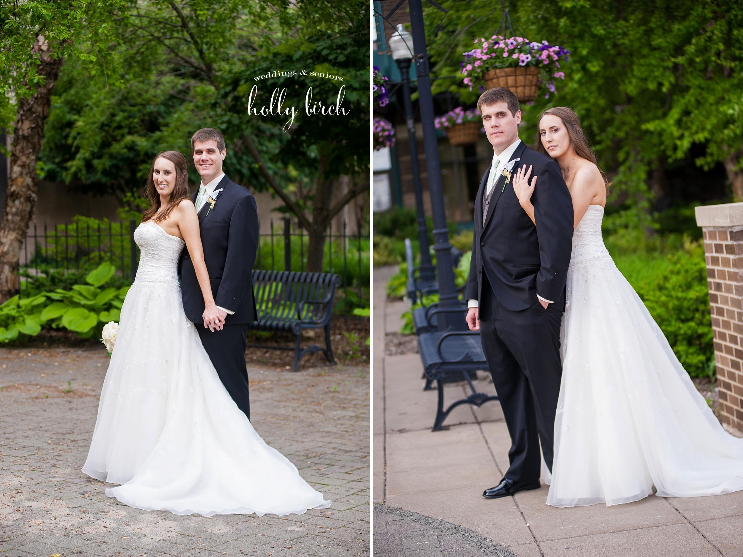 elegant wedding portraits