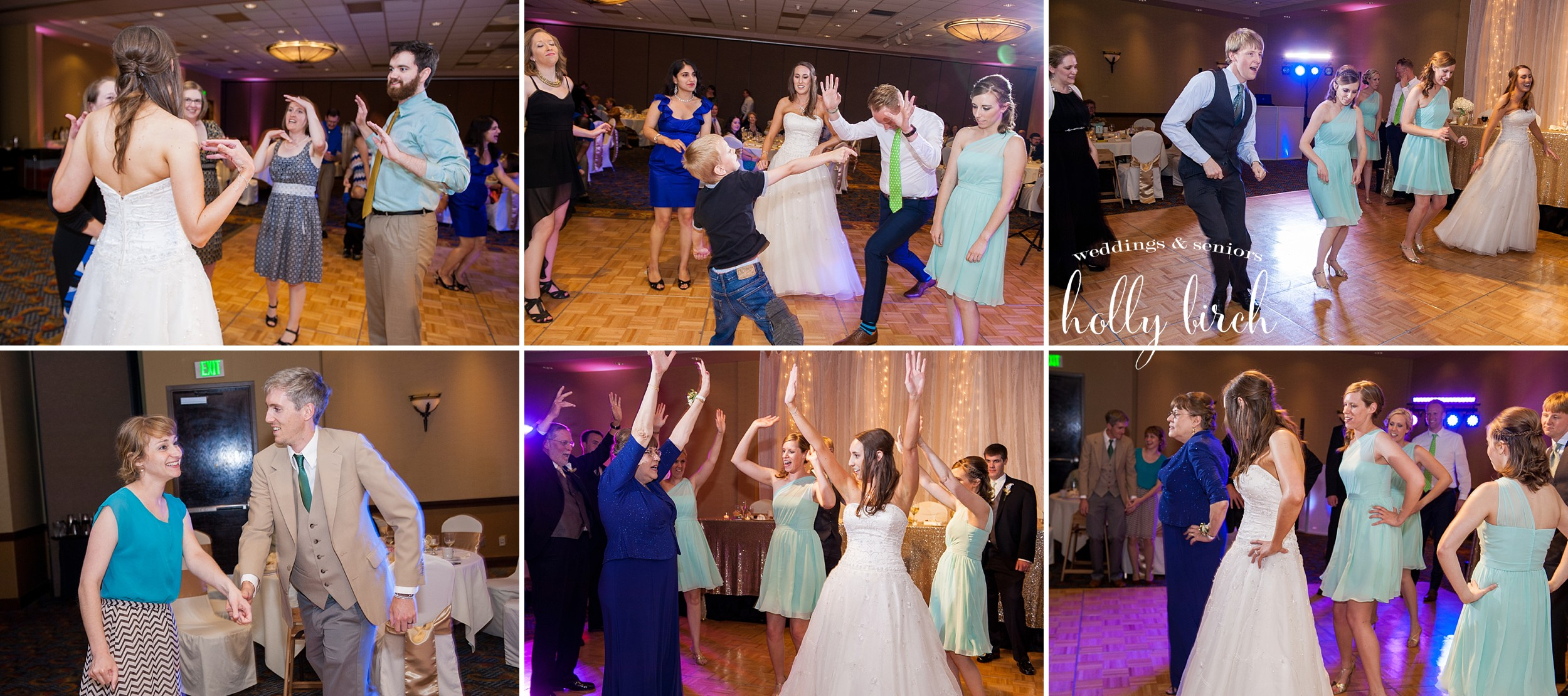 reception dancing candids