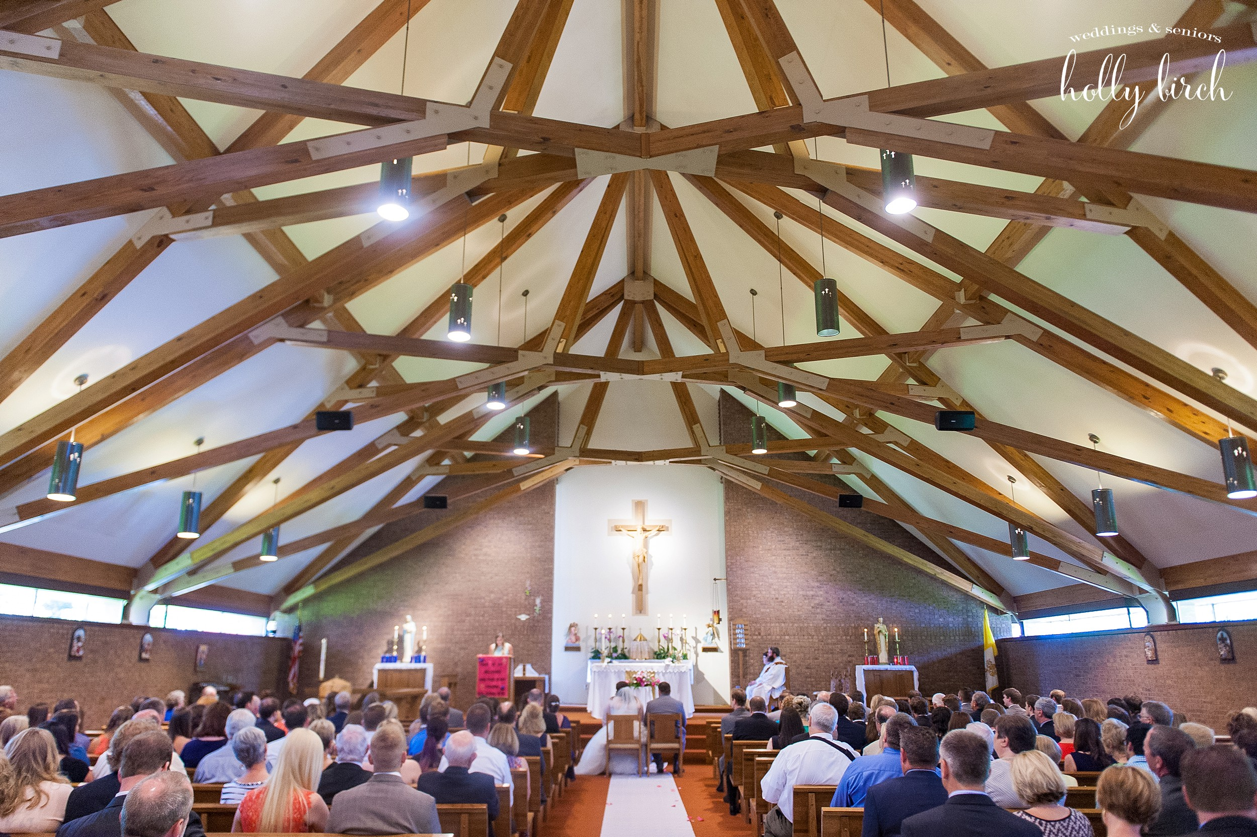 Philo St. Thomas Catholic church wedding
