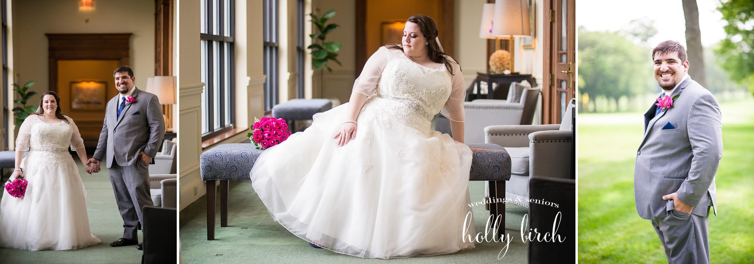 bride elegant settee portrait