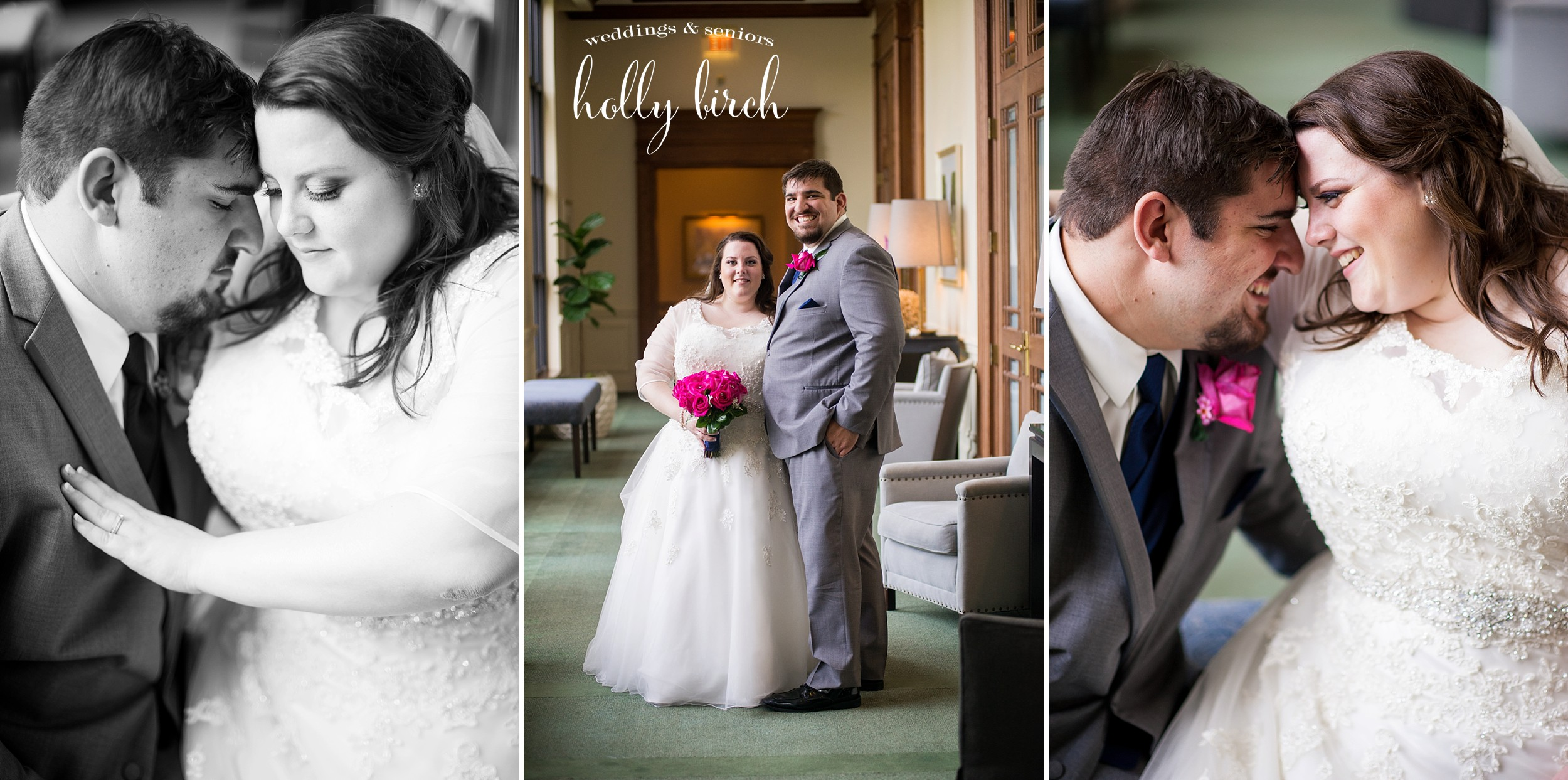Champaign Country Club wedding portraits