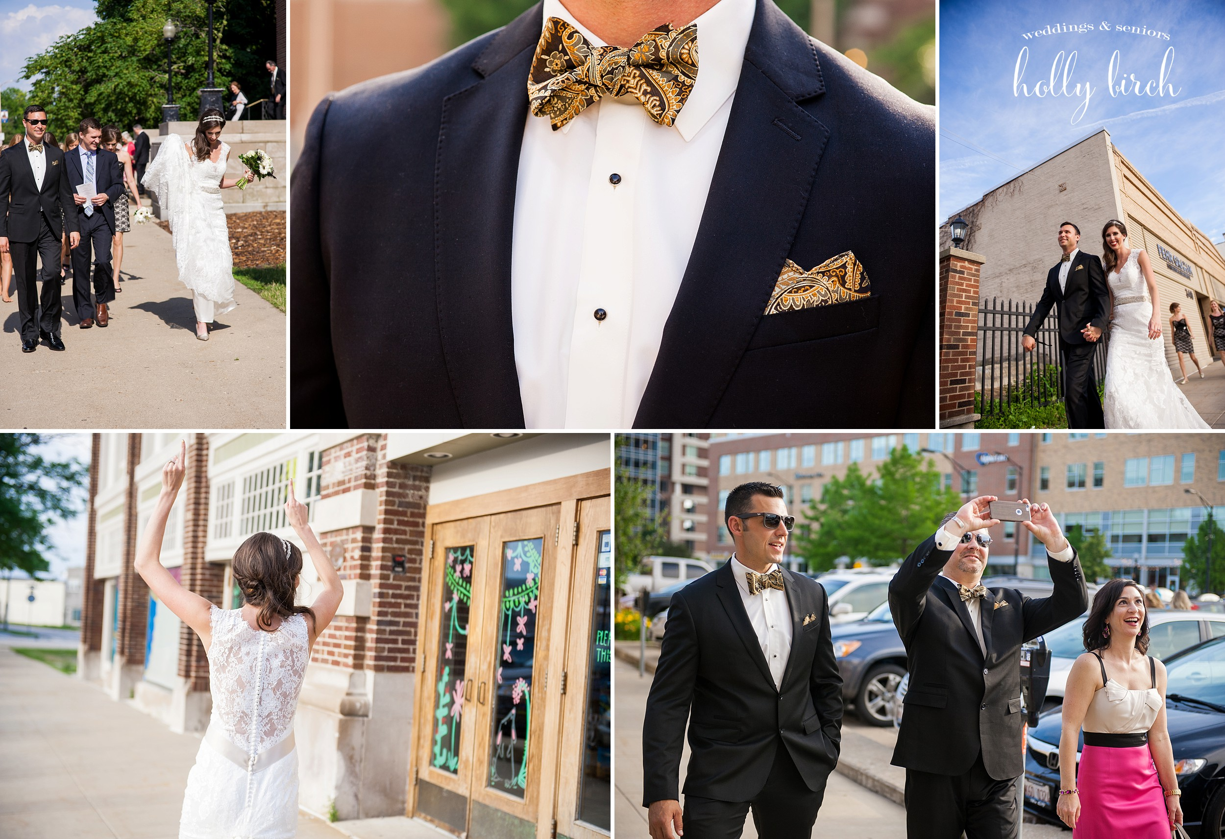 Champaign wedding day candids