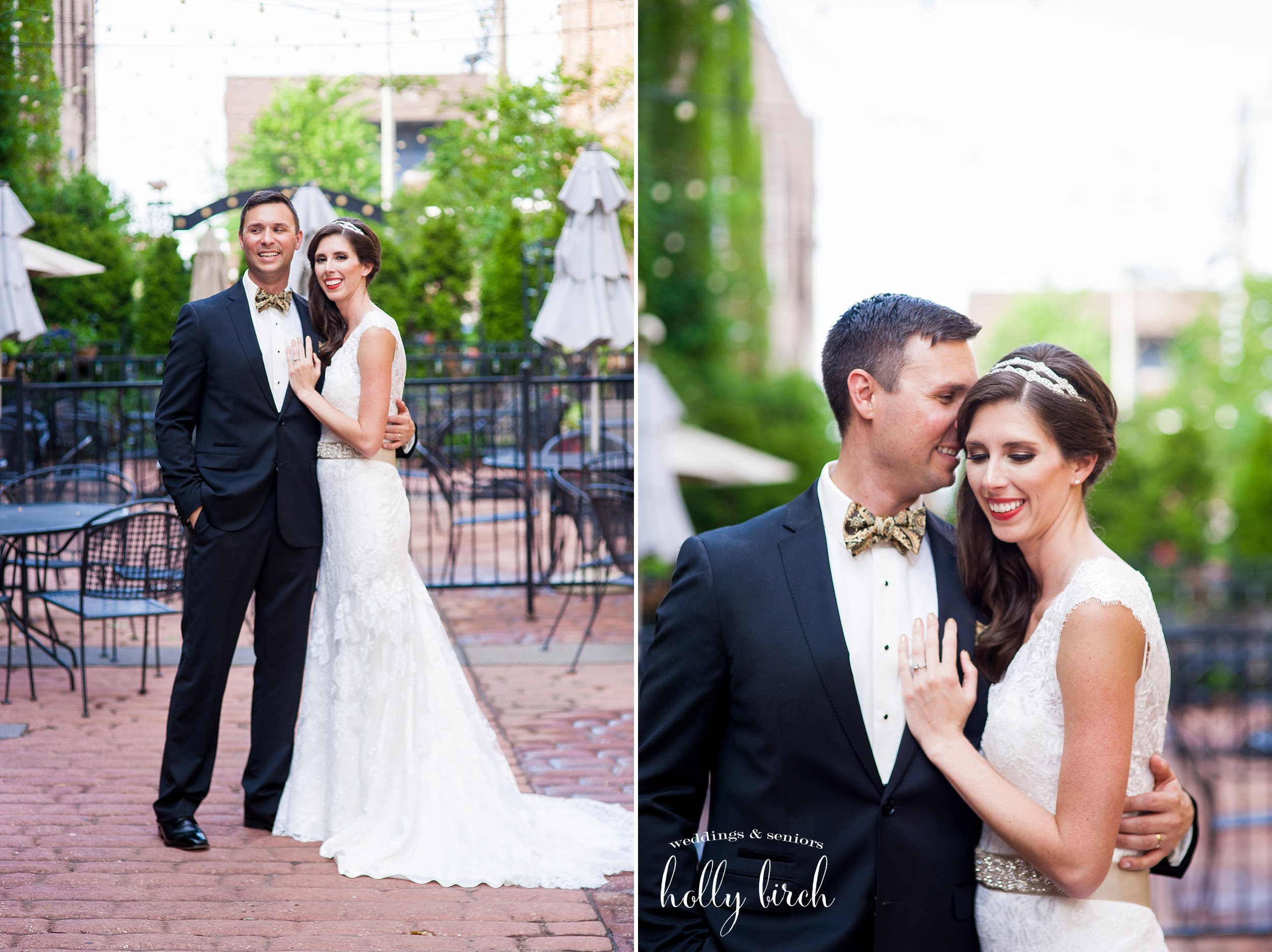 wedding portraits downtown Champaign