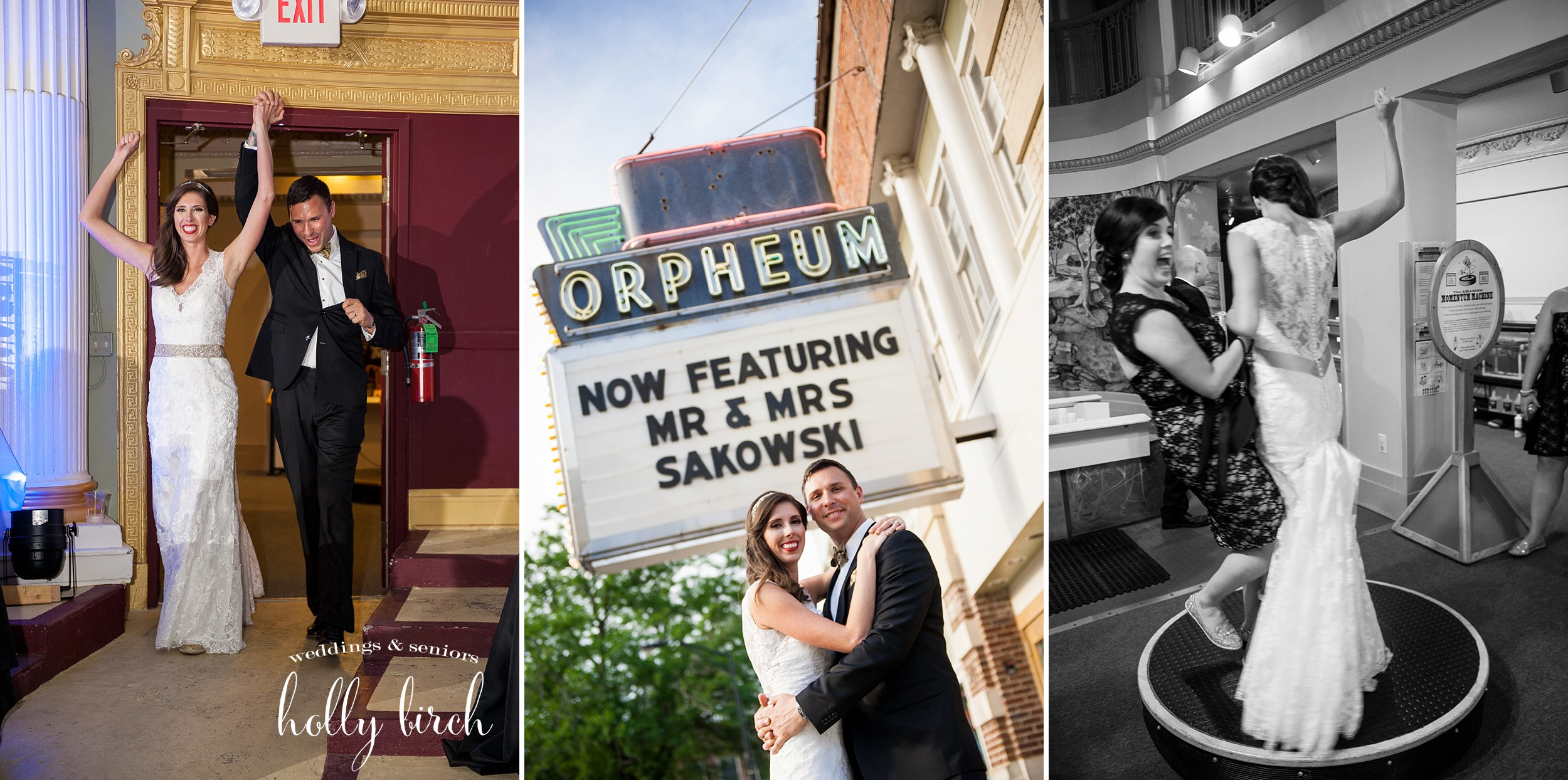 Orpheum wedding candids